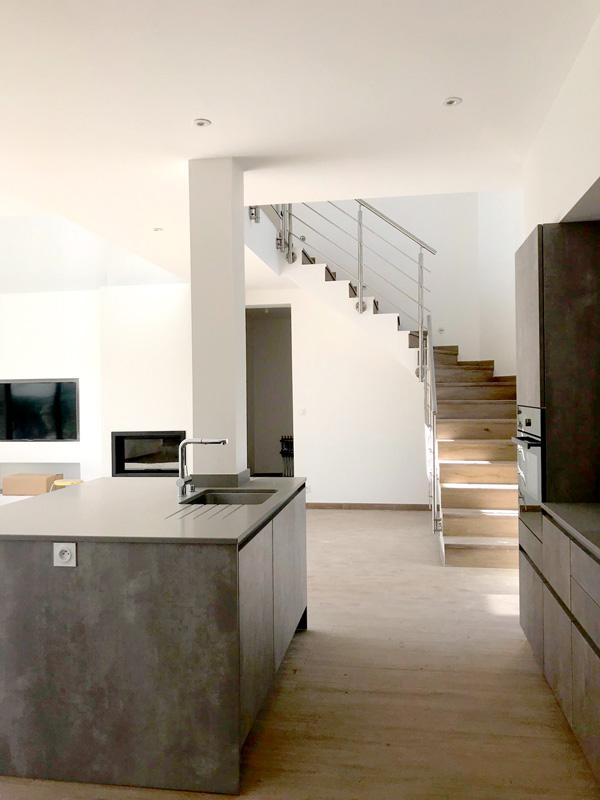 intérieure d'une maison neuve