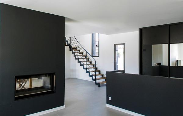 intérieur moderne d'une maison